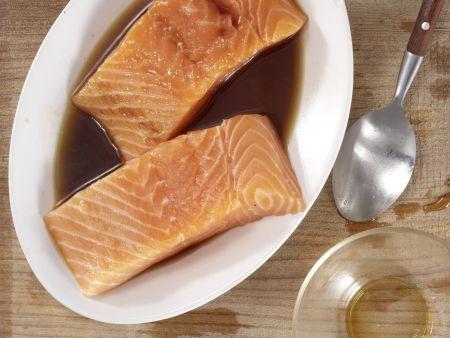 Soja-Lachs: Zubereitungsschritt 2