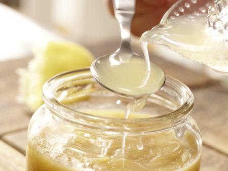 Soja-Quitten-Eis: Zubereitungsschritt 8