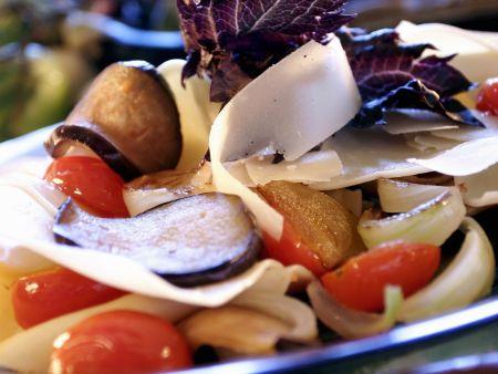 Sommergemüse mit Lasagneblättern