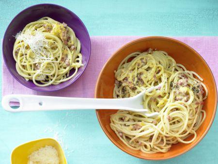 Spaghetti à la Carbonara