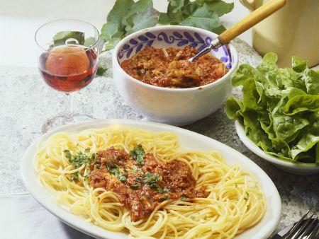 Rezept: Spaghetti Bolognese Italien