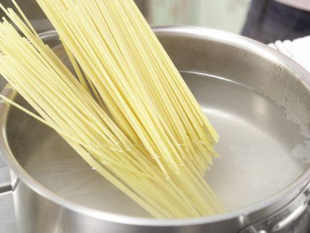 Spaghetti mit Calamaretti: Zubereitungsschritt 5