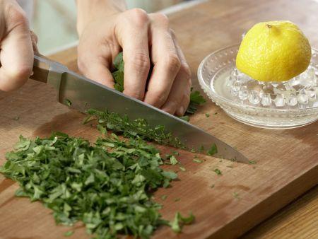 Spaghetti mit cremiger Thunfischsauce: Zubereitungsschritt 3