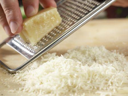Spaghetti mit Kräuter-Sojacreme: Zubereitungsschritt 2