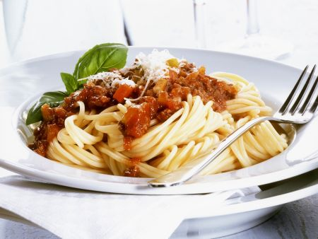 Rezept: Spaghetti mit Bolognese
