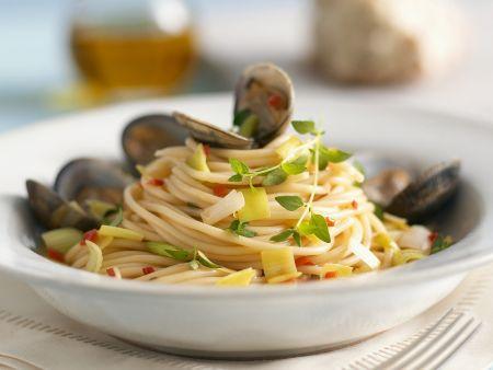 Spaghetti mit Vongole