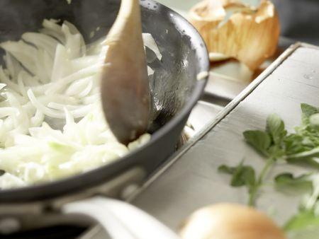Spaghetti mit Paprika: Zubereitungsschritt 6