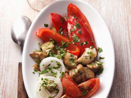 Spanischer Gemüsesalat