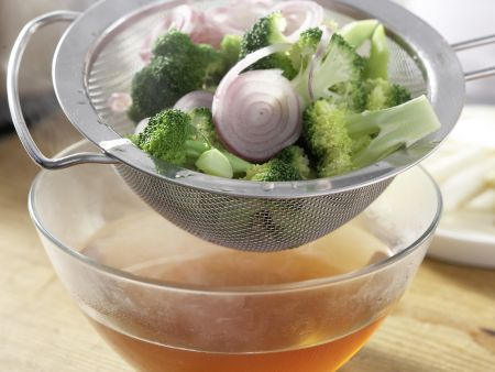 Spargel-Brokkoli-Tarte: Zubereitungsschritt 5