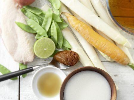 Spargel-Curry: Zubereitungsschritt 1