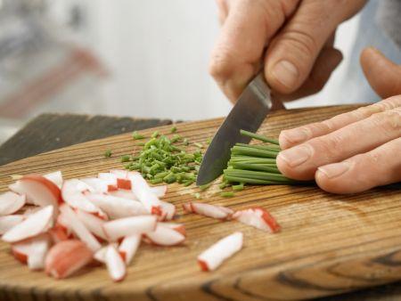Spargel mit Eier-Vinaigrette: Zubereitungsschritt 5