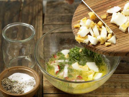 Spargel mit Eier-Vinaigrette: Zubereitungsschritt 8