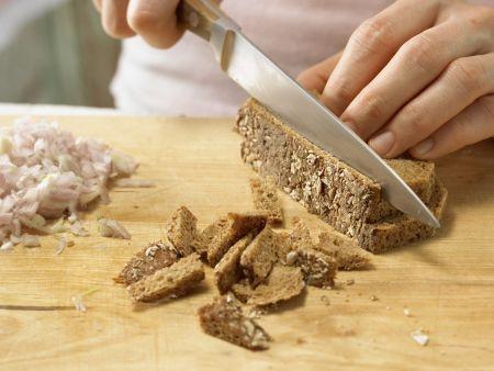 Spargel-Frisée-Salat: Zubereitungsschritt 3