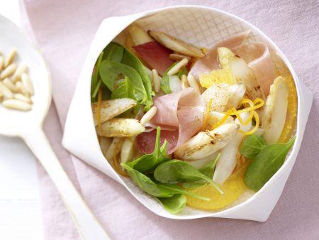 Spargel-Orangen-Salat