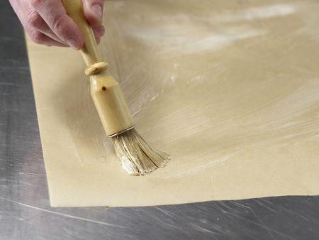 Spargel auf Schollenfilet: Zubereitungsschritt 4