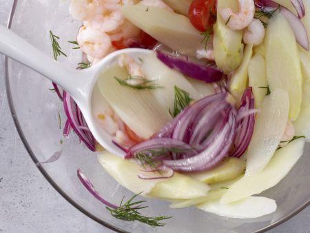 Spargel-Tomaten-Salat: Zubereitungsschritt 5