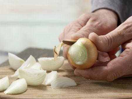 Spinat-Aprikosen-Gemüse: Zubereitungsschritt 1
