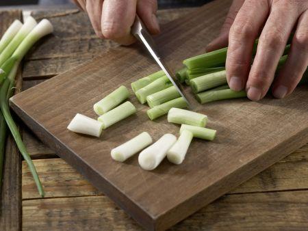 Spinat-Mango-Gemüse: Zubereitungsschritt 2