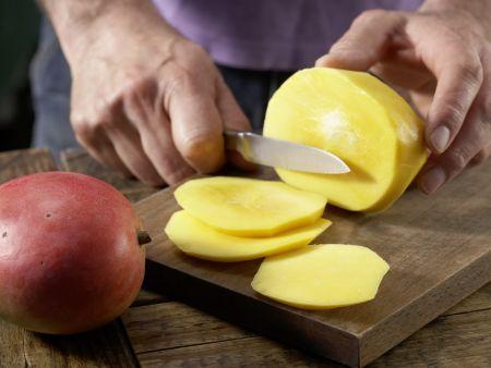 Spinat-Mango-Gemüse: Zubereitungsschritt 3