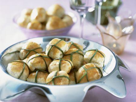 Spinat-Mozzarella-Bällchen