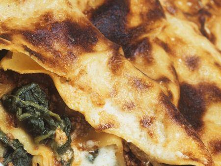Rezept: Spinatlasagne mit Hackfleisch