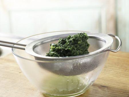 Spinatsalat mit Sesam: Zubereitungsschritt 5