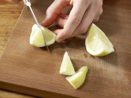 Spinatsalat mit Sesam: Zubereitungsschritt 7