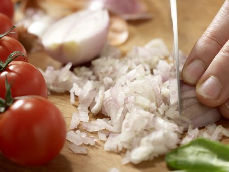 Spinatsalat mit Zander: Zubereitungsschritt 2