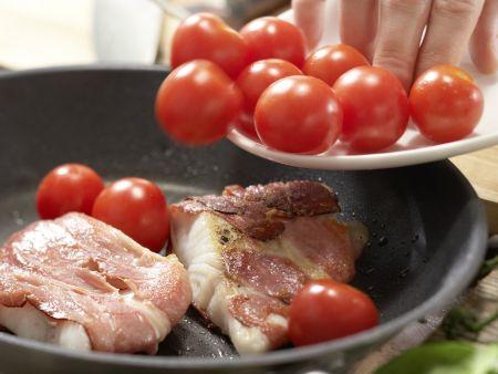 Spinatsalat mit Zander: Zubereitungsschritt 7