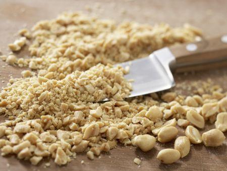 Spinatsuppe mit Muffins: Zubereitungsschritt 1