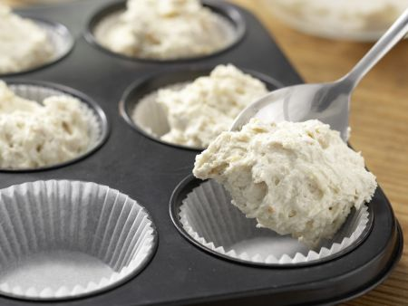 Spinatsuppe mit Muffins: Zubereitungsschritt 3