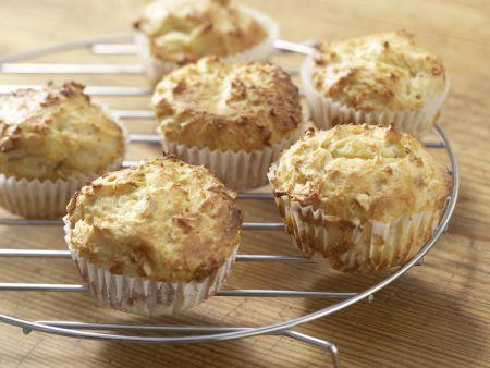 Spinatsuppe mit Muffins: Zubereitungsschritt 4