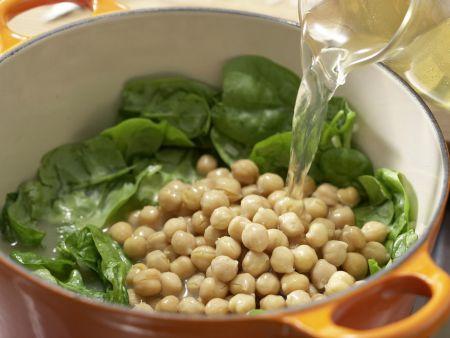 Spinatsuppe mit Muffins: Zubereitungsschritt 7