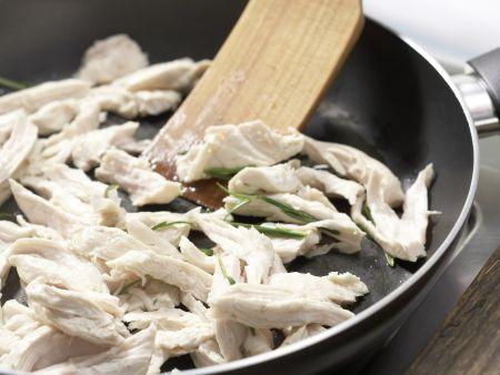 Spitzkohl-Morchel-Gemüse: Zubereitungsschritt 10