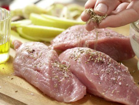 Spitzkohl-Waldorf-Salat: Zubereitungsschritt 7