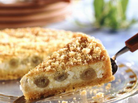Stachelbeer-Frischkäse-Kuchen