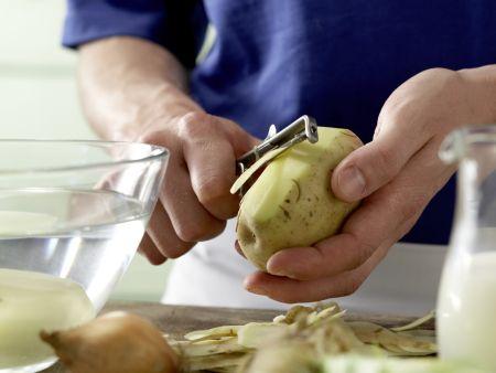 Stampfkartoffeln – smarter: Zubereitungsschritt 1