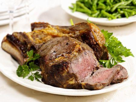steak mit bohnen rezept eat smarter. Black Bedroom Furniture Sets. Home Design Ideas
