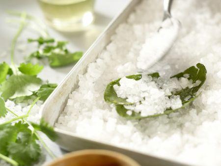 Steaks vom Salzbett: Zubereitungsschritt 1