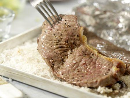 Steaks vom Salzbett: Zubereitungsschritt 8