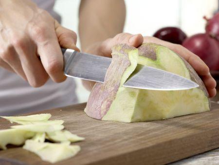 Steckrüben-Kartoffel-Püree: Zubereitungsschritt 1