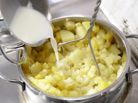 Steckrüben-Kartoffel-Püree: Zubereitungsschritt 8
