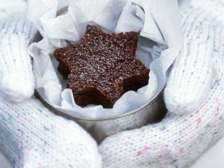 Stern-Schokoladenkuchen