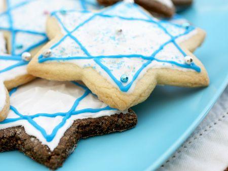 Rezept: Sternplätzchen zum Hannukah-Fest