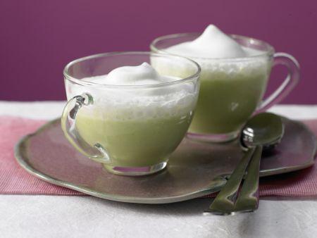 Rezept: Süppchen von grünem Spargel