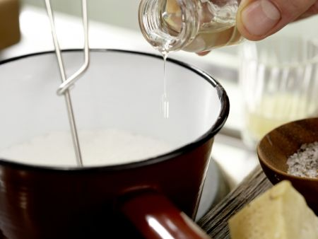 Süppchen von grünem Spargel: Zubereitungsschritt 7