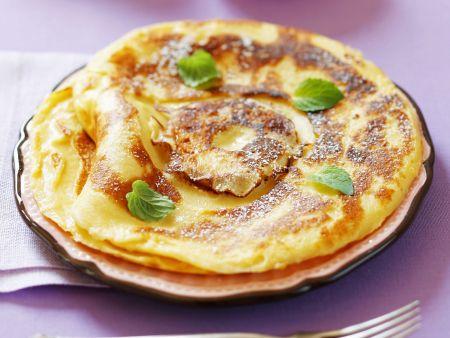 Süße Apfelpfannkuchen