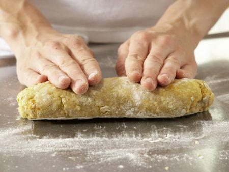 Süße Aprikosenbrötchen: Zubereitungsschritt 4