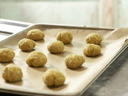 Süße Aprikosenbrötchen: Zubereitungsschritt 5