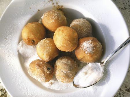 Süße Kartoffelbällchen